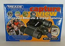 Meade CaptureView 8x22 Digital Camera Binoculars Pre Owned Open Box