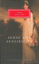 """NEW"" Sense And Sensibility (Everyman's Library Classics), Austen, Jane, Book"