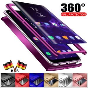 HRhandel Cover 360° Grad für Huawei Honor 9 + PANZER FOLIE Schutz Hülle Case