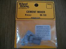 Wheel Works Vehicles N Scale Cement  Truck White Metal Casting Kit BTTG