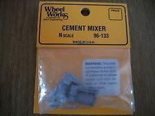 Wheel Works Vehicles N Scale Cement  Truck White Metal Casting Kit BTTG