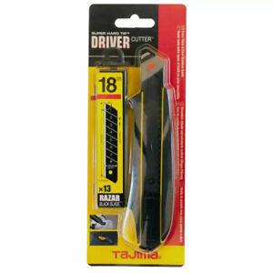 Tajima DC560RB Cuttermesser 18mm + 13 Ersatzklingen Cutter Messer