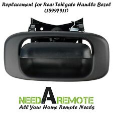 Tailgate Handle and Bezel for Chevrolet Silverado & GMC Sierra 1999-2006