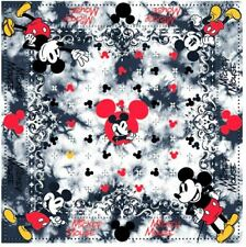 Mickey Mouse Retro Bandana Hankerchief Cotton Blend Hav-A-Hank Walt Disney Co