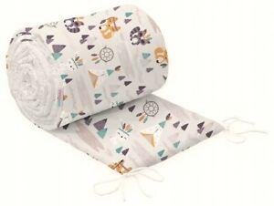 BABYMAM Bettumrandung Nestchen Babykopfschutz 420 360 190 180 Bettnestchen