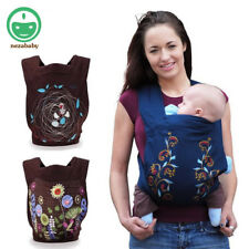 Organic Cotton Ergonomic Baby Carrier Wrap Rider Baby Backpack Carrier Kangaroo