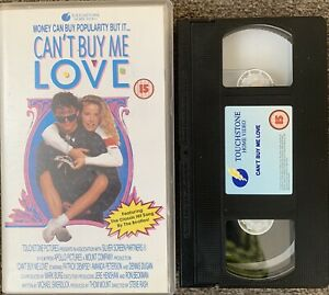 Can't Buy Me Love (PATRICK DEMPSEY)-VHS VIDEO SMALL BOX.