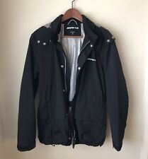 Mens AMG Black HOODED Waterproof LIGHTWEIGHT Jacket SIZE Small S