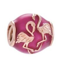 CHAMILIA Sterling Silver Pink Flamingo Charm ~ NEW in Pouch ~ 2015-0014
