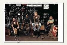 Jon Bon Jovi / John Francis Bongiovi BAND - Autogrammfotokarte laminiert [K06] 