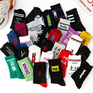 Men's Street Socks Autumn Winter Mid-tube Socks Cotton Socks Fried Street Socks