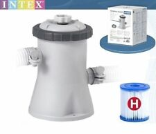 Intex 330 Galón Easy Set Piscina filtro bomba & Cartucho para 8ft/10ft Pool