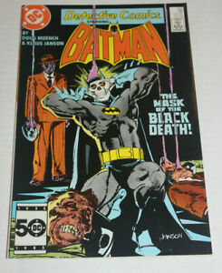 Detective Comics #553  2nd appearance Black mask - Batman - NM- 9.2