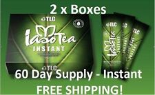 Iaso Tea INSTANT (2 Boxes) -single serve packets (60 Day Supply) TLC Weight Loss