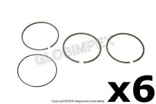 AUDI/VW A4 A6 TT QUATTRO (1997-2006) Piston Ring 6 Sets Standard 81.00 mm MAHLE
