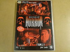 2-DISC DVD / MASTERS OF HORROR - VOL.VII ( DARIO ARGENTO, JOHN LANDIS )