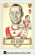 2009 Select NRL Champions Star Sketch Card SK23 Ben Hornby (Dragons)