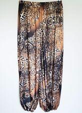Satin trousers/satén Pants-harén-Pants-UK 24,26,28,30 - US 2x, 3x, 4x