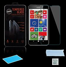 CRISTAL blindado para Nokia Lumia 630 635 Pantalla lámina vidrio laminado 9h
