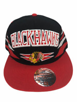 NHL Chicago Blackhawks Hockey Hat Mitchell & Ness Snapback Vintage Hockey