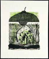 Kunst in der DDR/Nachwendezeit. Andreas KÜCHLER (1953-2001 D), handsigniert