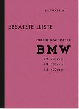 Catalogo parti di ricambio//RICAMBIO elenco//pezzo di ricambio-elenco BMW R 68//r68 NUOVO