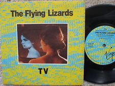 The Flying Lizards - TV / Tube -  1980 Near Mint 45 rpm record and sleeve