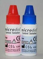 Glucose Control Solution Microdot Blood Glucose Testing 2 X 4 mL High /LowBox/1