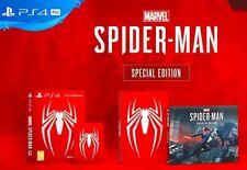 MARVEL´S SPIDERMAN Edición Especial PS4,  Steelbook Limitada, PAL España,