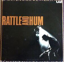 U2, traqueteo y el zumbido doble álbum, Vintage Doble Lp 33, Excelente Estado.