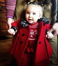Ralph Lauren Bambino Cavo Intarsia vestito e cappello 12 mesi