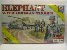Esci Elephant with German Troops 1/72 #8621 Complete SEALED kit
