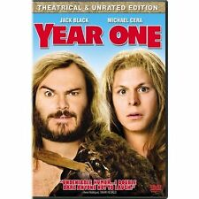 Year One Theatrical & Unrated Edition On DVD with Olivia Wilde Disc Only X86