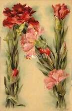 """Vintage Victorian Klein Floral Letter Initial """"N""""  2"""" x 3"""" Fridge Magnet"""