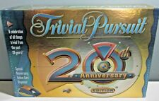 "Euc Hasbro Trivial Pursuit ""20th Anniversary Edition"" Board Game ~ Complete"