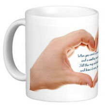 Hug in a mug, Dad Mum Student Friend Partner birthday, gift, all occasions,