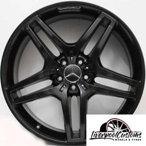 21inch Genuine Mercedes Benz ML63 AMG Wheels Set Of 4 OEM Rims