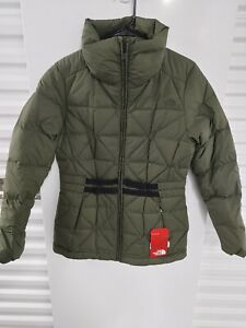 The North Face Women Belted Mera Peak Jacket  Medium M Quilted