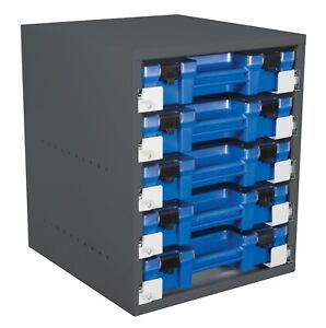 VEHICLE STORAGE CABINET- VAS™cabinet - 5 Case drawer cabinet with cases