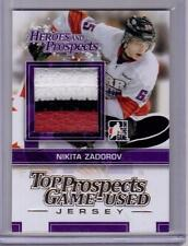 NIKITA ZADOROV 13/14 ITG Rookie GOLD 3-color Jersey #/10 SP Buffalo Sabres #29