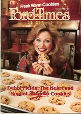 Ford Times Mar/1986 Debbi Fields Mrs. Fields Cookies  Richard Haas Murals News