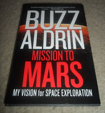ASTRONAUT BUZZ ALDRIN signed autographed book MISSION TO MARS (NASA)