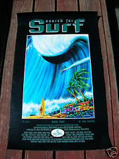 New listing Vintage Greg Noll John Severson Surf movie poster surfing search for surf woody