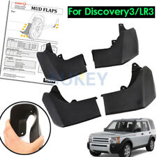 Mud Flaps Splash Guards Mudguard For Land Rover Discovery 3 04-08 LR3 Front Rear