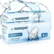 8x Wessper Aquamax Wasserfilter für BRITA Maxtra, Marella, AmazonBasics WES003