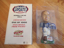"""Pacific Trading Cards PEYTON MANNING 8"""" LTD ED Bobble Head INDIANAPOLIS COLTS"""
