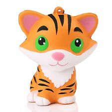 9cm Tiger Doll Squishy Squeeze Pinch Healing Toy Gift Anti-anxiety Stress Relief
