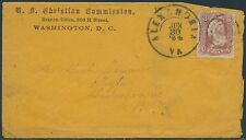 #65 ON U.S. CHRISTIAN COMMISSION COVER BR8795