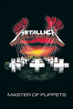 Metallica Master Of Puppets 91.5 X 61CM Póster Maxi Nuevo Mercadería Oficial