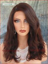 BRAZILIAN REMY HUMAN HAIR BLACK LACE FRONT/PART WIG *BLEACH/TINT AS YOU WISH 315